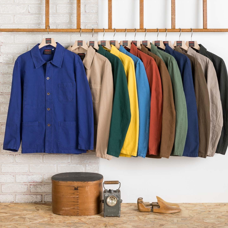 Workwear Jacket in Organic Twill fabric 1G/5C