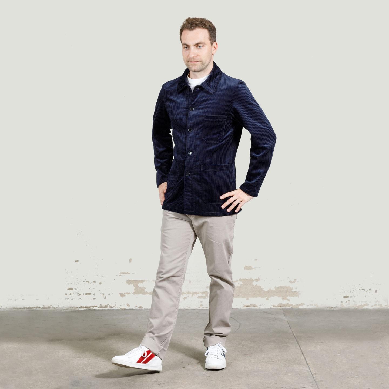 Wide wale corduroy workwear Jacket 9L/4