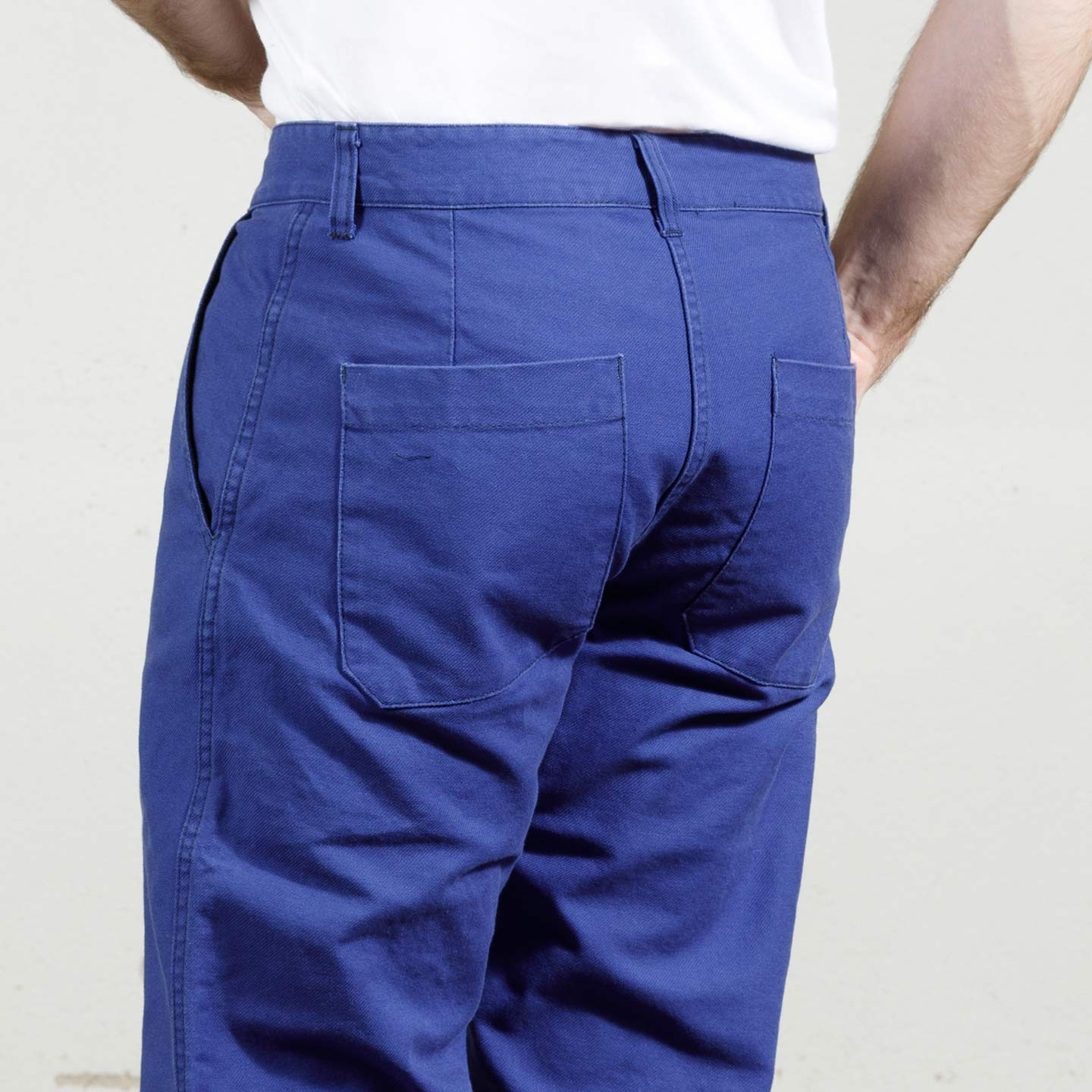 Workwear click clack hairgrip organic pants 1G/264 hydrone