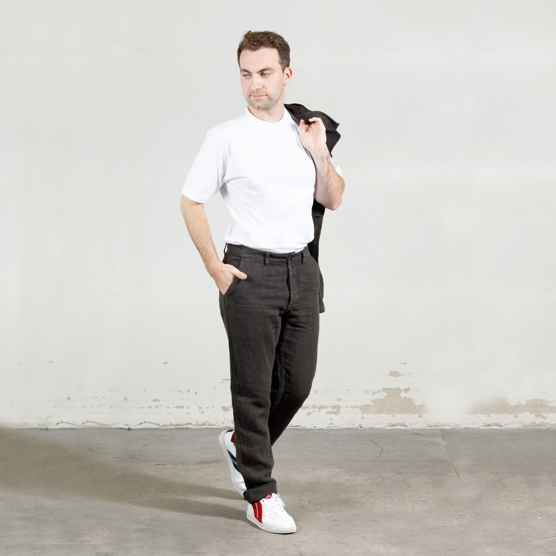 Workwear Heavy Linen Trousers 2L/264