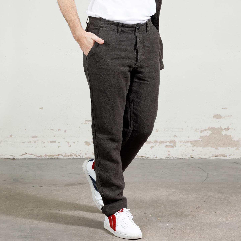 Pantalon workwear en lin lourd 2L/264
