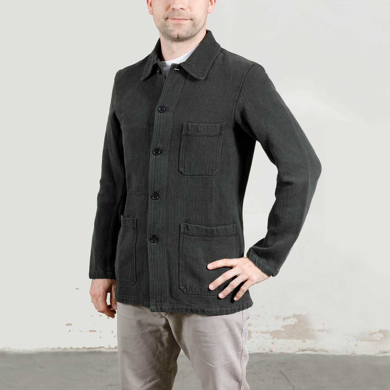 Workwear Jacket in Herringbone fabric 1A/4