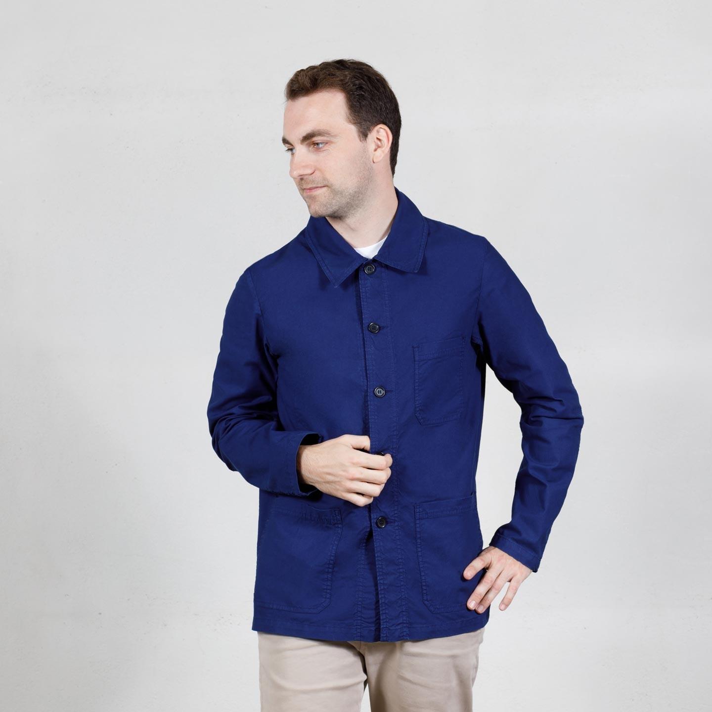 Workwear Jacket in light canvas 4N/5C