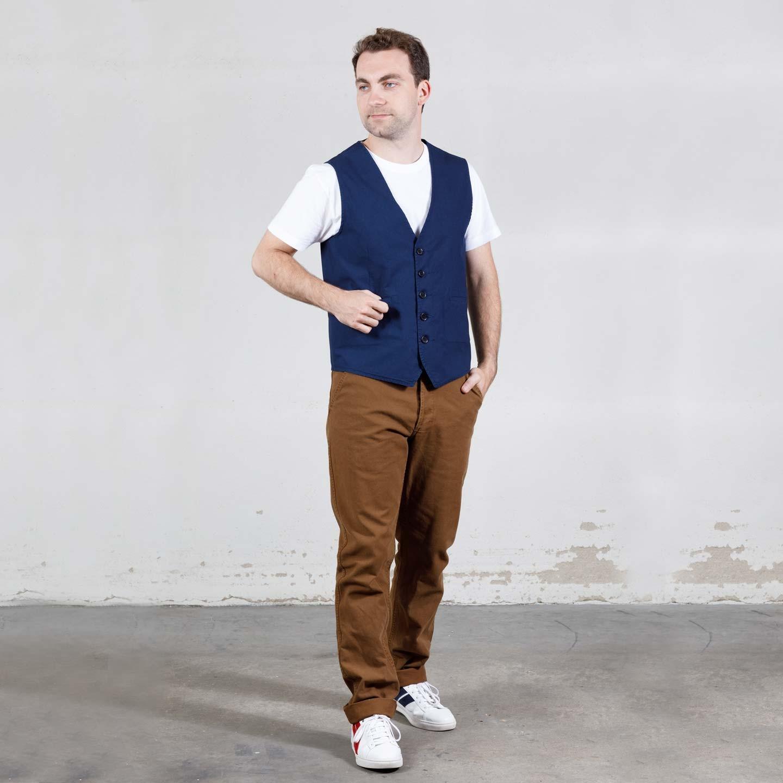 Workwear Vest in light twill 4N/937P