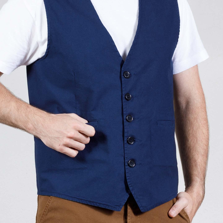 Gilet workwear en toile légère 4N/937P