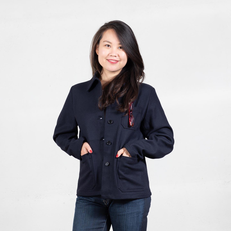 Woolen women's Jacket 2F/4F