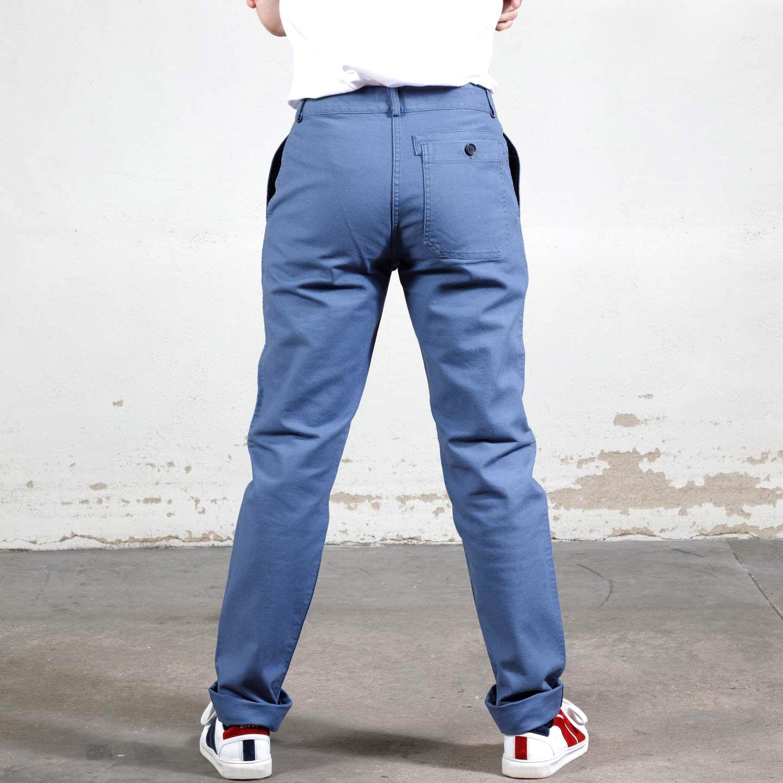Workwear pants in organic twill 1G/256 postman
